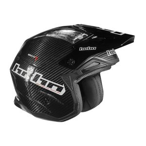 Casque trial ZONE 4 CARBON BLACK 2019 Noir