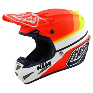 Casque cross SE4 COMPOSITE - KTM MIRAGE -WHITE RED 2020 White Red
