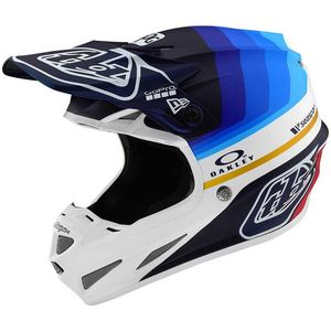 Casque cross SE4 CARBON - MIRAGE - NAVY WHITE 2019 Navy White