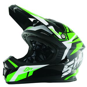 Casque Cross Shot Destockage Furious Squad Vert 2017