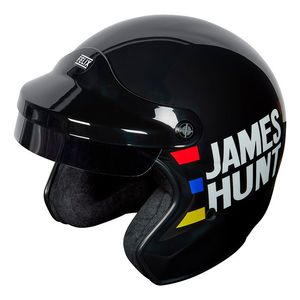 Casque ST520 JAMES HUNT REPLICA  Noir