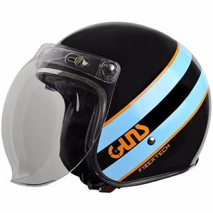 Casque HERO  Noir/Bleu/Orange