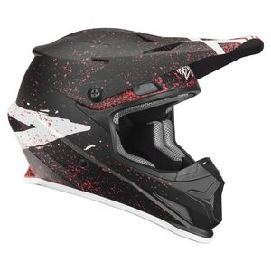 Casque cross SECTOR HYPE BLACK CORAL ENFANT  Black Coral
