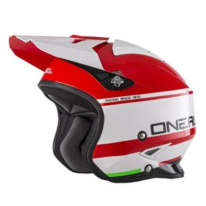 Casque Cross O'neal Slat - Crimson - Red White 2019