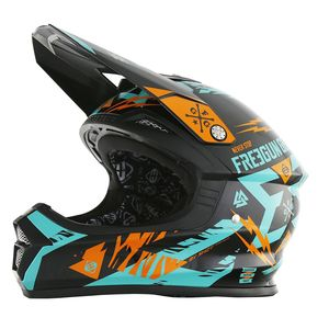 Casque Cross Shot Destockage Xp4 Trooper Mint Orange 2017