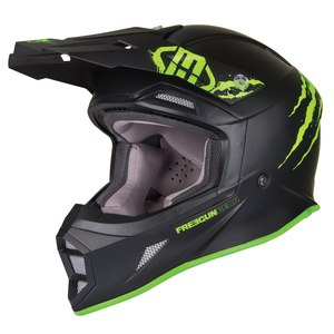 Casque cross MX605 RAW  2017 Noir/Vert