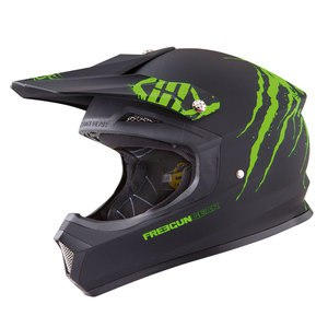 Casque cross XP4 FREAK VERT MAT   Vert