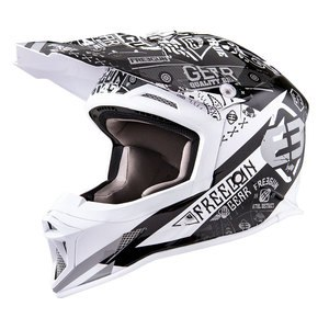 Casque Cross Shot Destockage Mx605 Bandana 2016