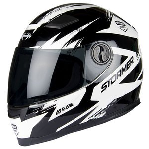 Casque AREA - MIX  Noir/Blanc