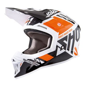 Casque Cross Shot Striker Raceway Orange Brillant 2018