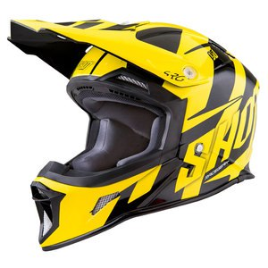 Casque cross STRIKER SYSTEM JAUNE FLUO  2017 Jaune Fluo