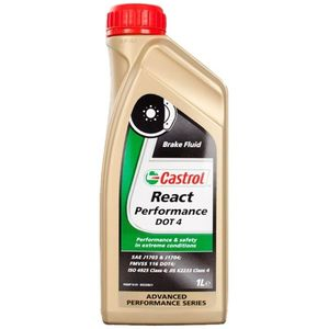 Liquide de frein REACT PERFORMANCE DOT 4 1L