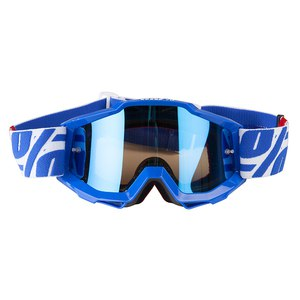 Masque cross ACCURI JUNIOR - NIMITZ BLUE LENS 2017 Blanc