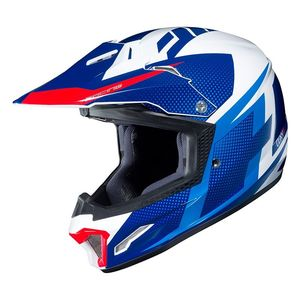 Casque cross CL XY II - ARGOS YOUTH - BLUE WHITE RED  Bleu/Blanc/Rouge
