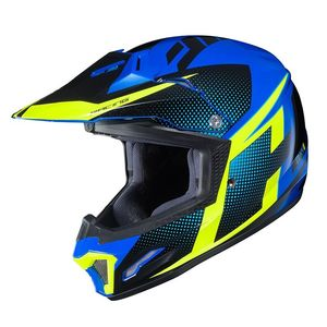 Casque cross CL XY II - ARGOS YOUTH - YELLOW BLUE  Jaune/Bleu