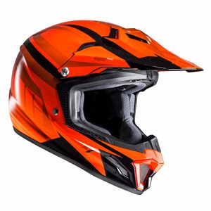 Casque cross CL XY II - BATOR (ENFANTS)  Noir/Orange