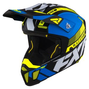 Casque cross CLUTCH BOOST BLUE/HI VIS 2021 Blue/Hi Vis