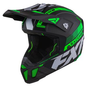 Casque cross CLUTCH BOOST LIME 2021 Lime