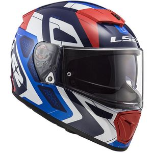 Casque FF390 - BREAKER - ANDROID  Blue Red