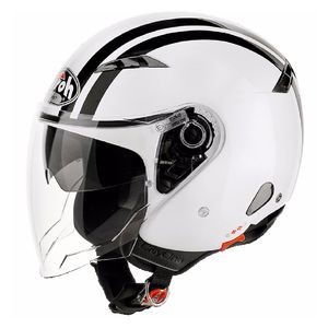 Casque Airoh City One - Flash - White Gloss