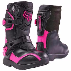 Bottes Cross Fox Comp 5k - Noir Rose - 2018