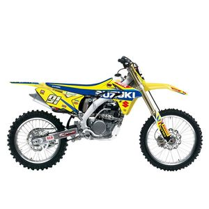 Kit déco + housse de selle REPLICA SUZUKI WORLD MXGP RACING 2017