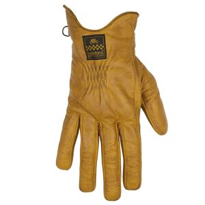 Gants CONDOR CUIR SOFT  Or/Marron