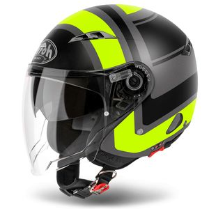 Casque CITY ONE - WRAP - MATT  Jaune mat
