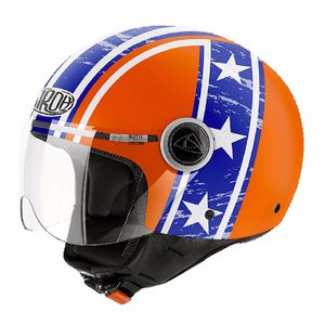 Casque Airoh Compact Pro - Hazzard Orange