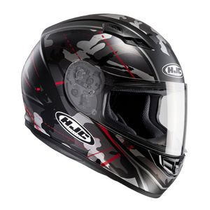 Casque CS-15 - SONGTAN  Gris/rouge