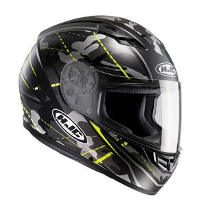 Casque CS-15 - SONGTAN  Gris/Jaune fluo