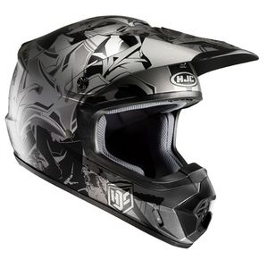 Casque cross CS MX II - GRAFFED 2018 Gris/Noir