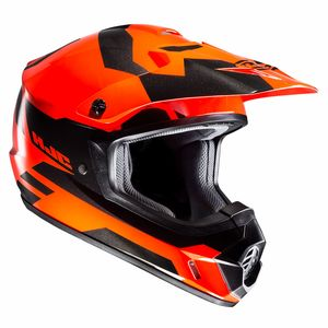 Casque cross CS MX II - PICTOR 2019 Noir/Orange