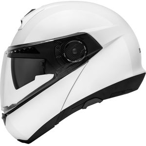 Casque C4 GLOSSY  Blanc brillant
