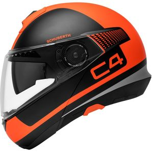 Casque C4 Legacy  Orange