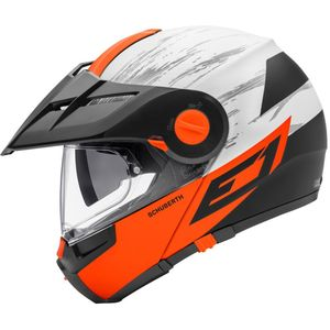 Casque E1 CROSSFIRE  Orange