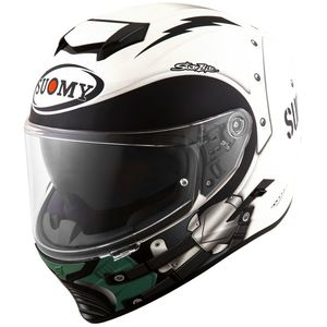 Casque STELLAR - CYCLONE MATT  Matt black