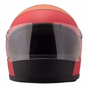 Casque ROCKET FUOCO MATT  Orange/Noir