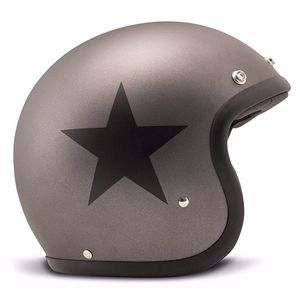 Casque VINTAGE STAR MATT  Gris