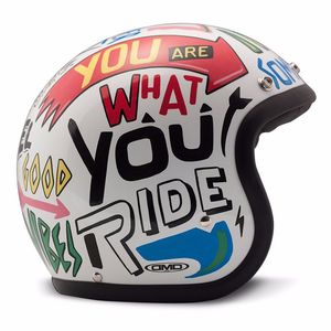 Casque Dmd Vintage Words