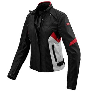 Blouson FLASH H2OUT LADY  Noir/Gris/Rouge