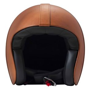 Casque VINTAGE BOWL  Dark Orange