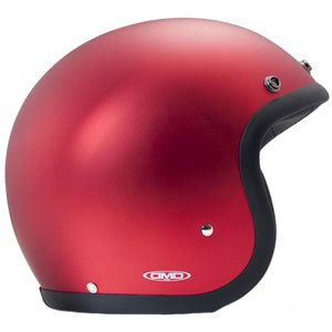 Casque VINTAGE METALLIC  Rouge