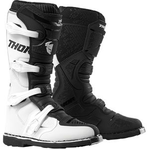 Bottes Cross Thor Blitz Xp White/black 2019