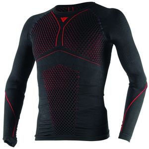 Tee-shirt D-CORE THERMO TEE LS  Black/Red