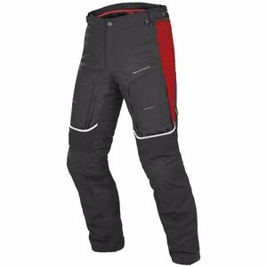 Pantalon P. D-EXPLORER GORE-TEX BLACK RED  Black/Red