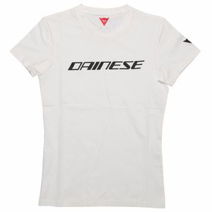 T-Shirt manches courtes DAINESE LADY  White/Black