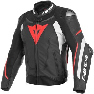 Blouson SUPER SPEED 3  Black/White/Fluo Red