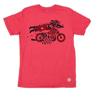 T-Shirt manches courtes DAREDEVIL  Rouge