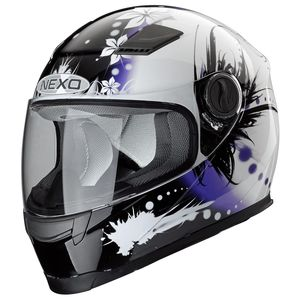 Casque JUNIOR III FLOWER  Violet